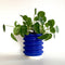 Block Planter - Electric Blue