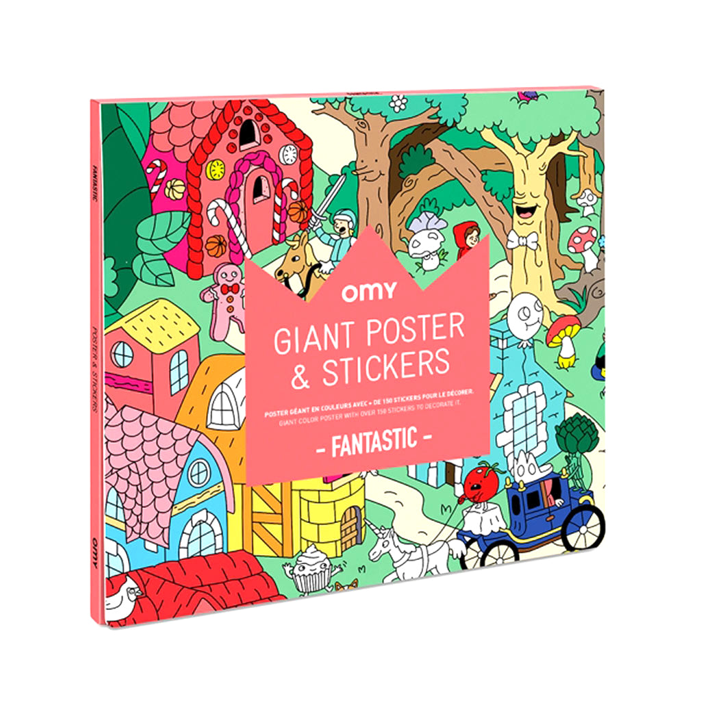 Giant Coloring Poster Fantastic