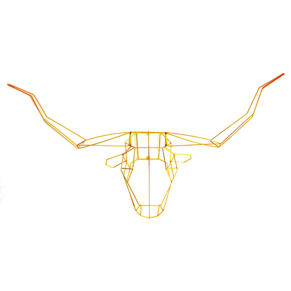 Long Horn Trophy Head - Woonwinkel - 1