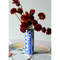 Hand Painted Klein Blue Collage Vase