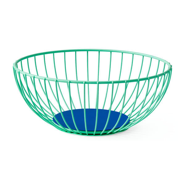 Iris Wire Basket - Large Mint