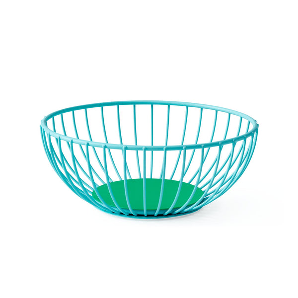 Iris Wire Basket - Small Light Blue