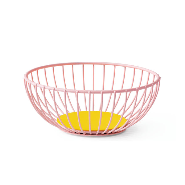 Iris Wire Basket - Small Pink