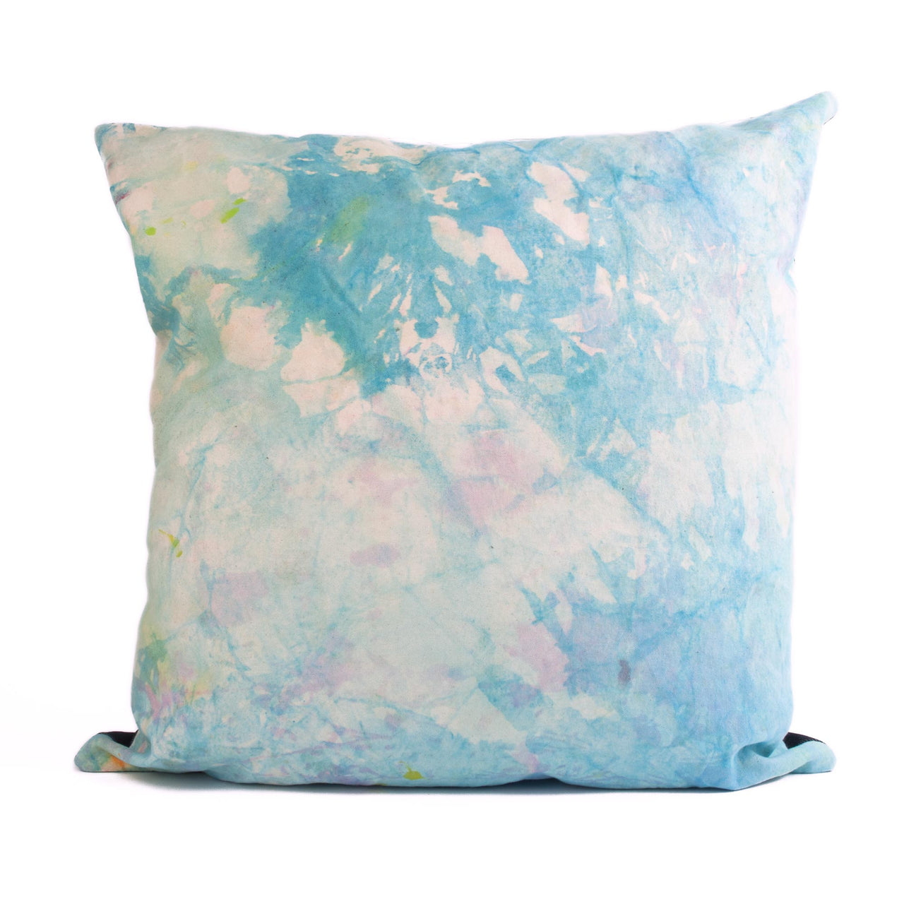 Dropcloth Cushion Blue