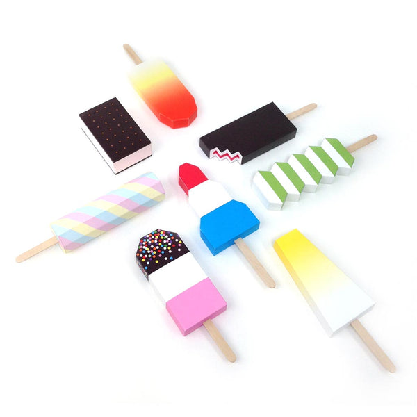 Paper Ice Lollies