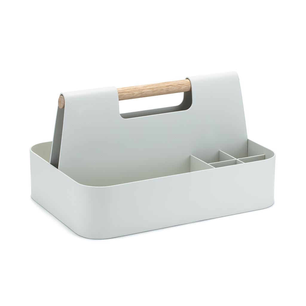 Elin Desk Caddy Linen