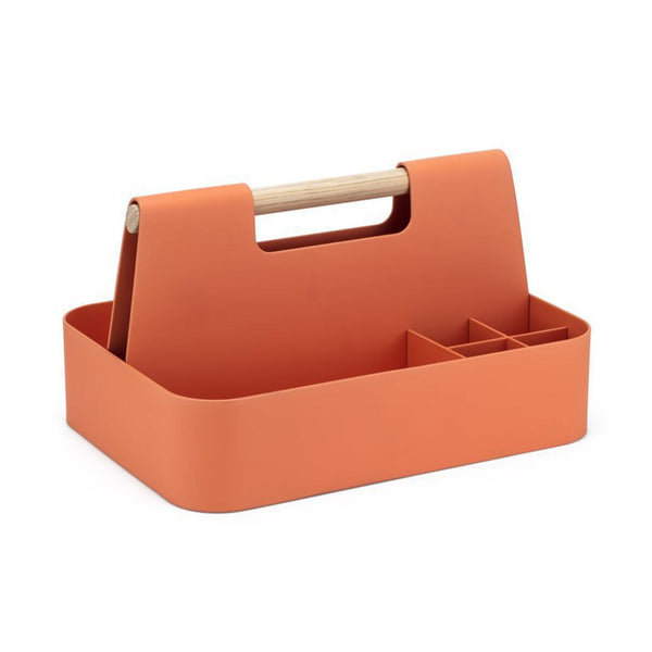 Elin Desk Caddy Terracotta