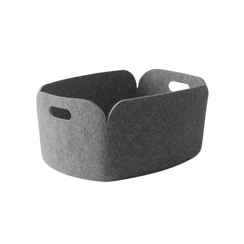 Restore Basket Rectangle Grey