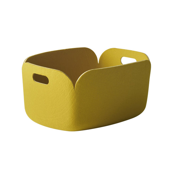 Restore Basket Rectangle Yellow