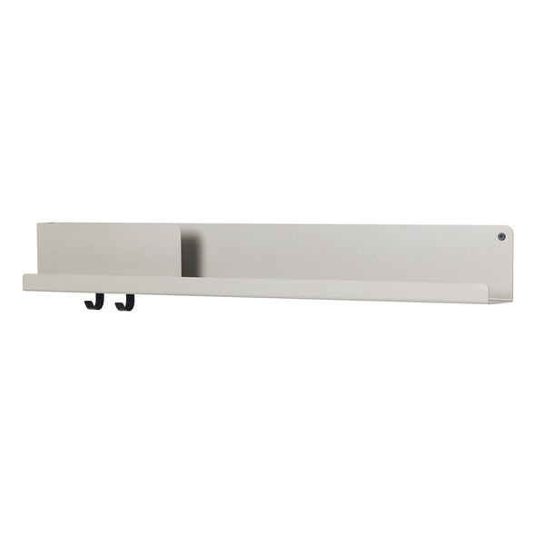 Folded Shelf Large Grey