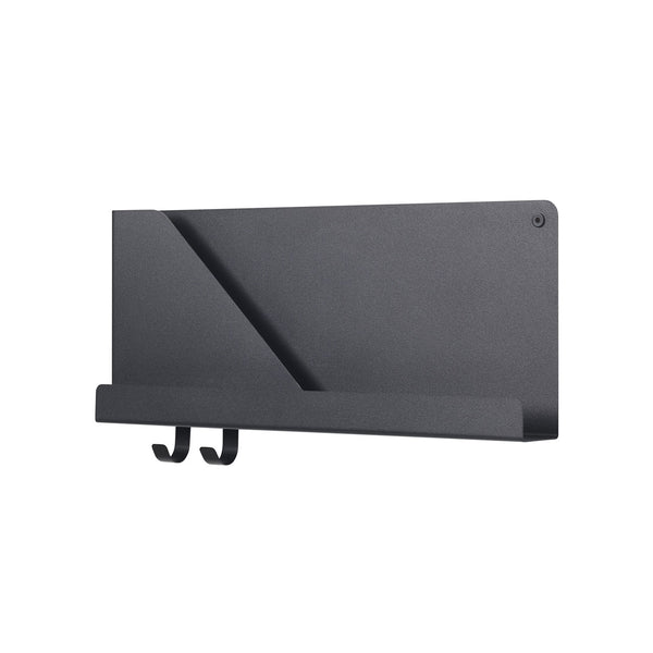 Folded Shelf Small Black