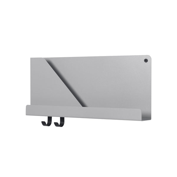 Folded Shelf Small Grey