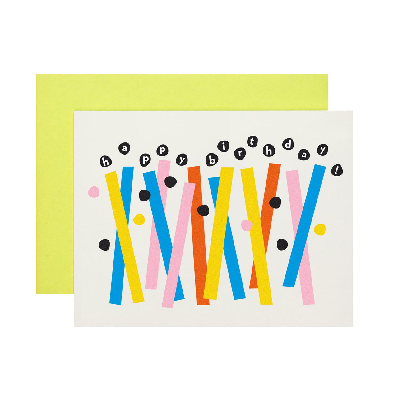 Card - Abstract Birthday Candles
