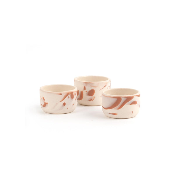Thimble Cup Marbled Creme