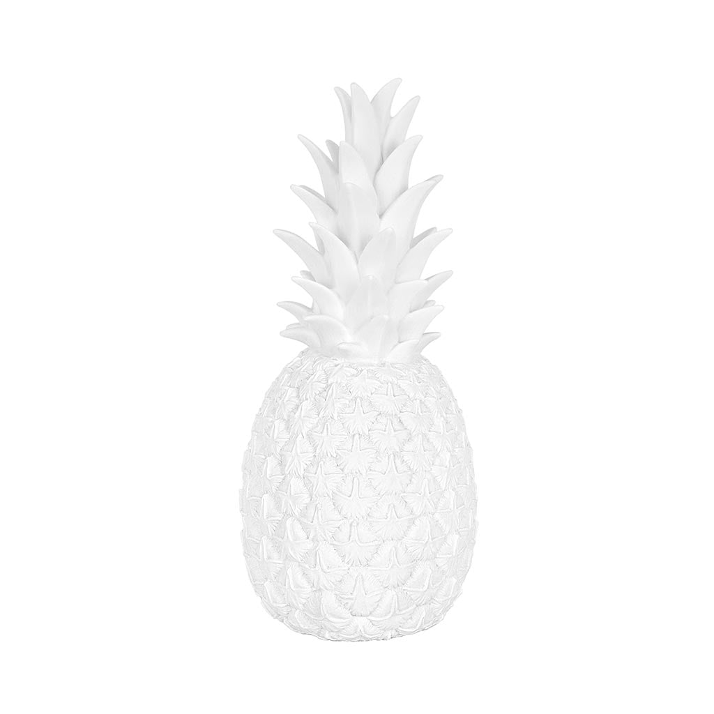 Pineapple Lamp White