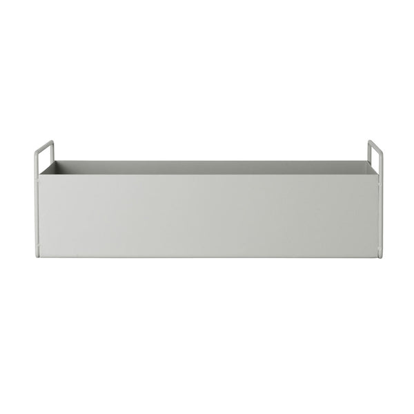 Small Plant Box Light Grey