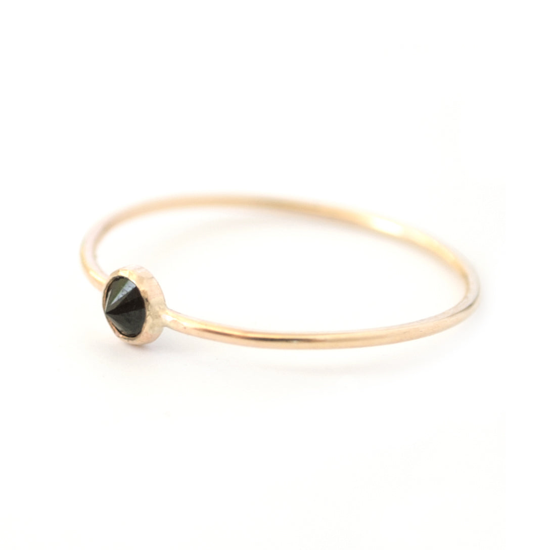 Spike Ring Black