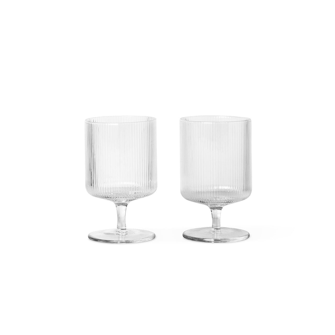 Ripple Wine Glasses - Set of 2