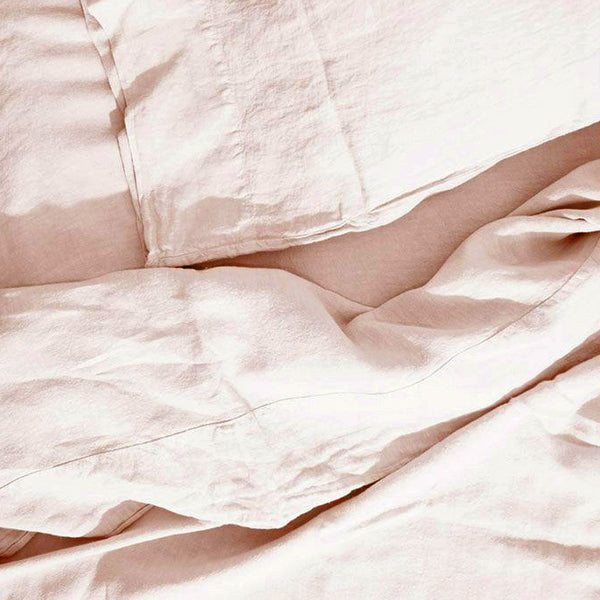 Simple Linen Bedding - Petal
