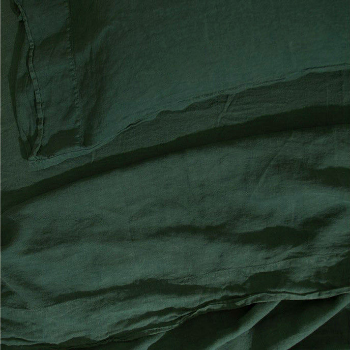 Simple Linen Bedding - Pine