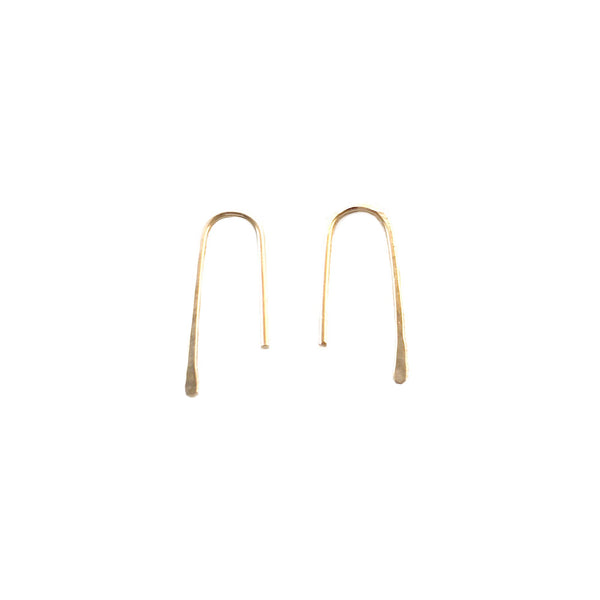 U-Turn Earring - 14K Gold Filled
