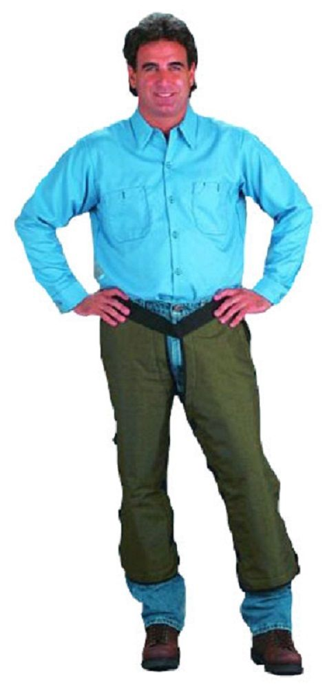CHICAGO PROTECTIVE APPAREL (CPA) 2600-28 CHAINSAW CHAPS U.S. FOREST SERVICE SPEC.