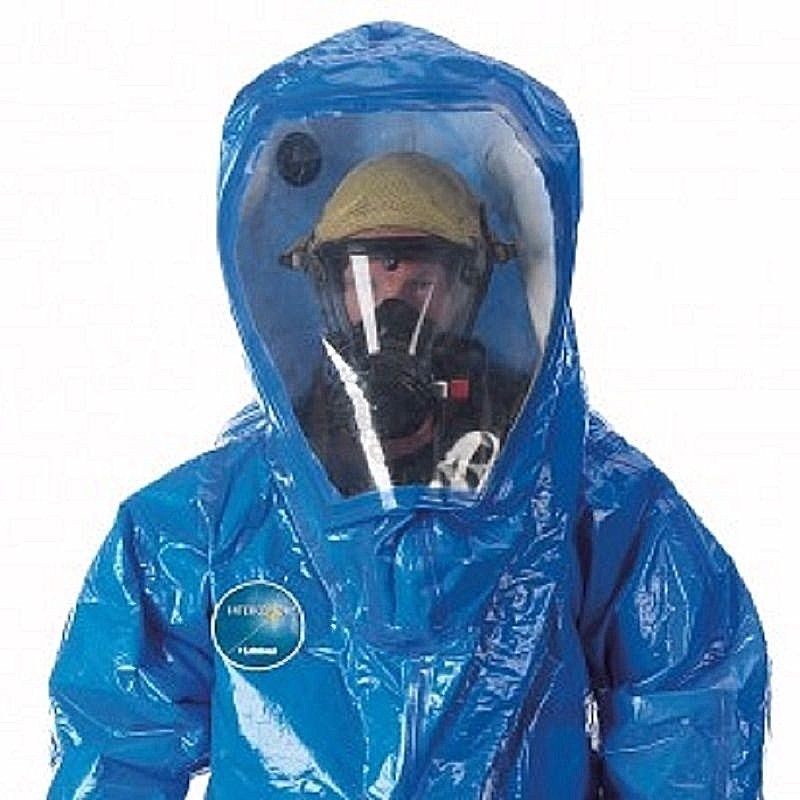 LAKELAND INTERCEPTOR 80650W LEVEL A REAR ENTRY SUIT