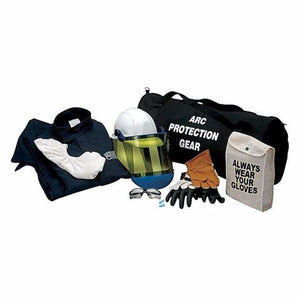 CHICAGO PROTECTIVE APPAREL (CPA) AG12-CV 12 CAL ARC FLASH KIT WITH GLOVES