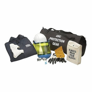 CHICAGO PROTECTIVE APPAREL AG8-JP 8 CAL ARC FLASH JACKET/PANTS KIT