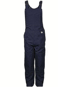 NATIONAL SAFETY APPAREL NSA BIB6DNV 16cal DELUXE BIB OVERALL 13oz NFPA 2112
