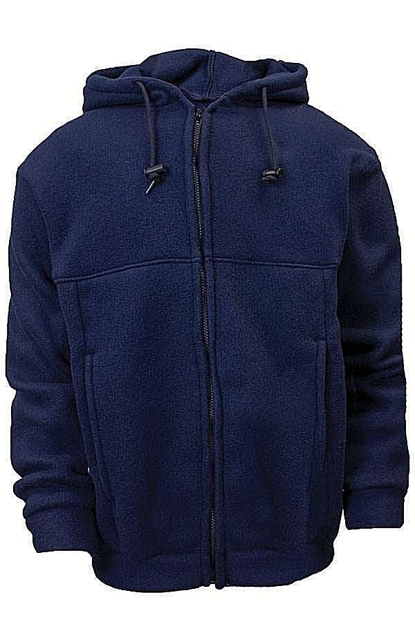 NATIONAL SAFETY APPAREL NSA C23FL05 HOODED ZIP-UP SWEATSHIRT FR/AR SM-XL