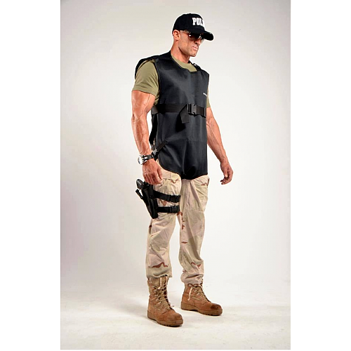 RADSHIELD DEMRON 2 PLY RADIATION/TACTICAL TORSO VEST D2LVSO