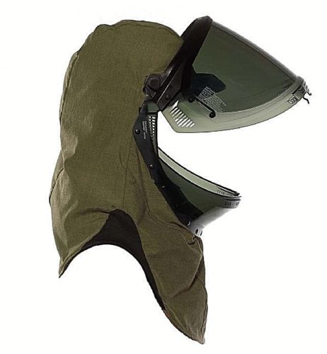 NATIONAL SAFETY APPAREL H65NPQH40LF  ARCGUARD REVELITE LIFT FRONT ARC FLASH HOOD 40 CAL