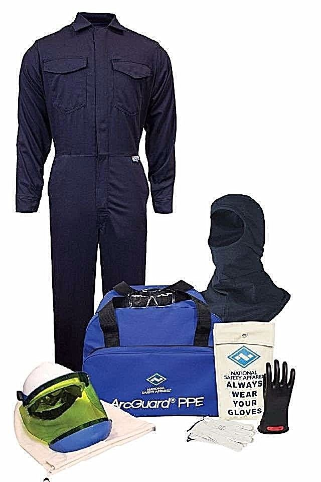 NATIONAL SAFETY APPAREL KIT2CV08B ARC FLASH KIT COMPLETE