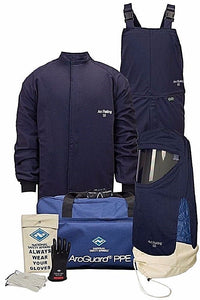 NATIONAL SAFETY APPAREL KIT4SC55 ARC FLASH 55 CAL COMPLETE KIT