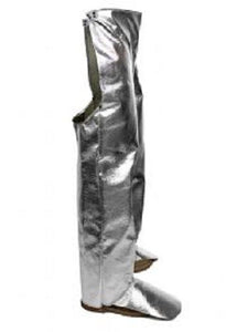 NATIONAL SAFETY APPAREL L40NLNL38 ALUMINIZED CHAPS 38""
