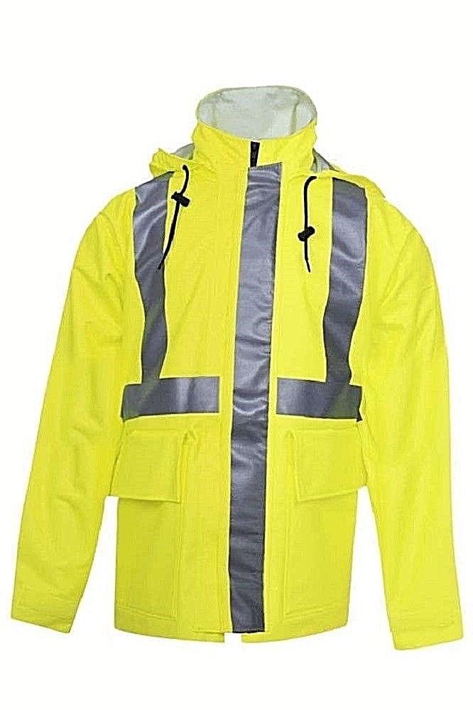 NATIONAL SAFETY APPAREL R30RL06 ARC H2O FR RAIN JACKET CLASS 3