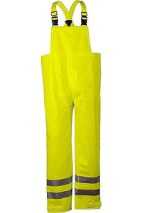 NATIONAL SAFETY APPAREL R40RL14 AR/FR BIB OVERALL CLASS E