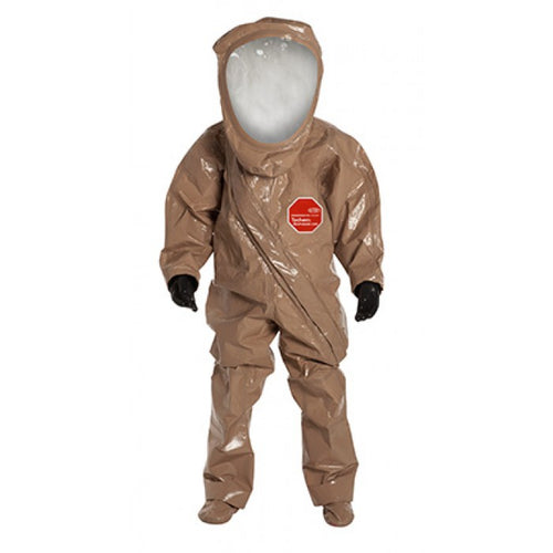 DuPont Tychem RC550TTN RESPONDER CSM Level A Suit Expanded Back