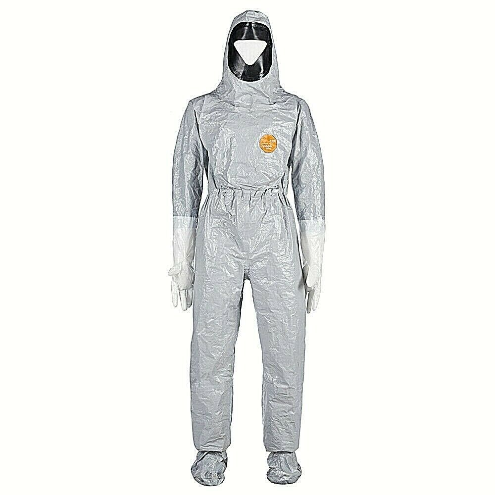 DUPONT TF611T GY TYCHEM F TYCHEM 6000 HOODED COVERALL