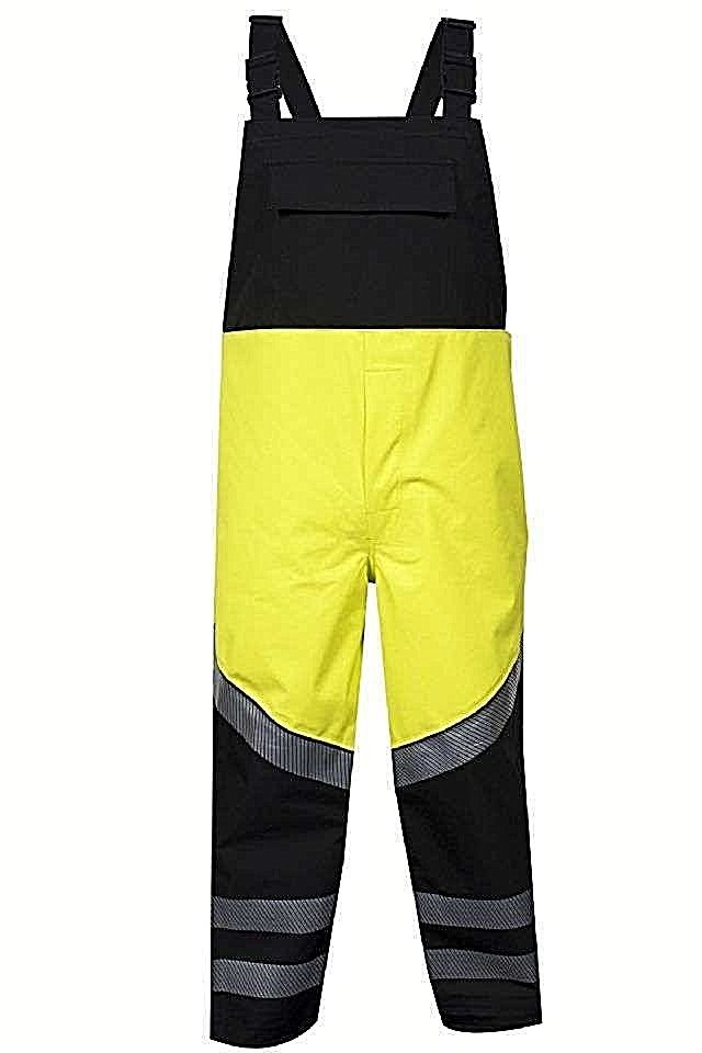 NATIONAL SAFETY APPAREL HYDROBIB-YB HYDROLITE AR/FR BIB OVERALL