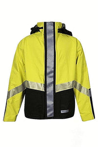NATIONAL SAFETY APPAREL HYDROBOM-YB Hydrolite 30 inch Hybrid FR/AR BOMBER JACKET