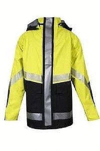 NATIONAL SAFETY APPAREL HYDROJACK-YB Hydrolite 35 inch Hybrid FR/AR STORM JACKET