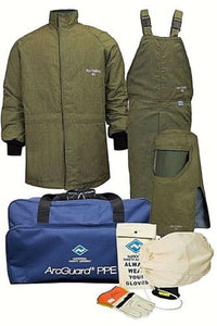 NATIONAL SAFETY APPAREL KIT4SCLT40NGLF LIFT FRONT ARC FLASH HOOD KIT