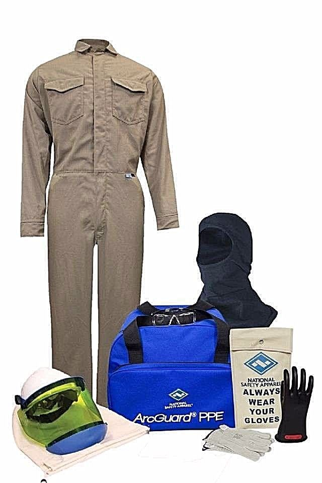 NATIONAL SAFETY APPAREL KIT2CVPR08B ARC FLASH KIT COMPLETE