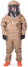 Kappler Z3H571 Rear Entry Expanded Back Heat Sealed Taped Seam Total Encapsulating Suit