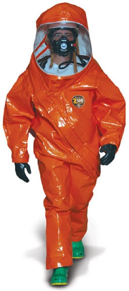 Kappler Z5H428, Zytron 500 Coverall, Coverall with Hood, Elastic Wrists and Ankles, CE Certified Type 3