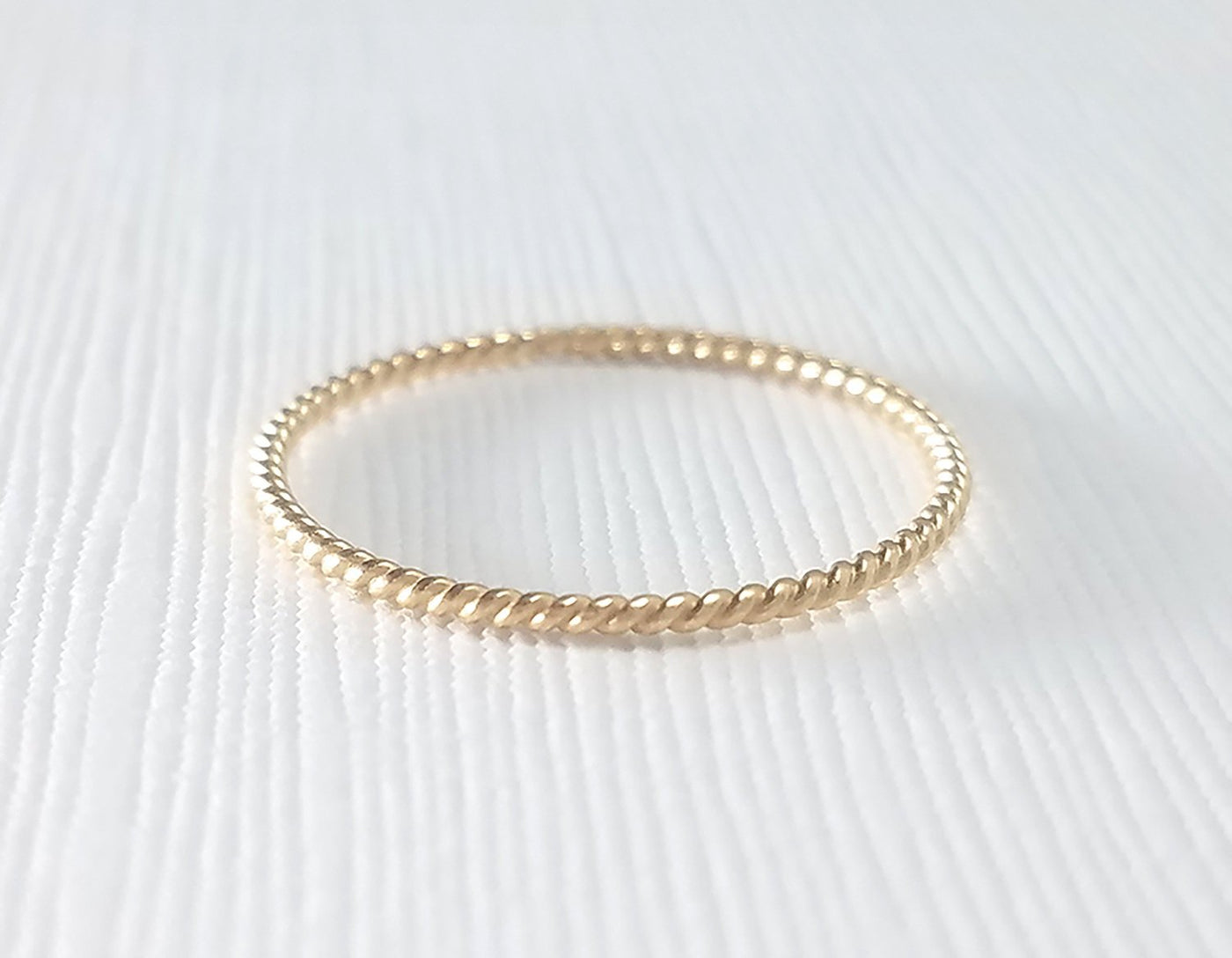stacking ring for her, 14k everyday ring, dainty gold ring, dainty gold ring, karat1424