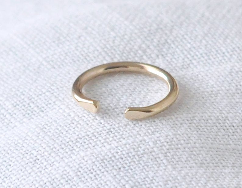 14 karat spacer ring, 14k spacer ring, 14kt spacer band, 14k gold