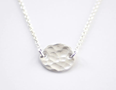 Luna necklace - sterling